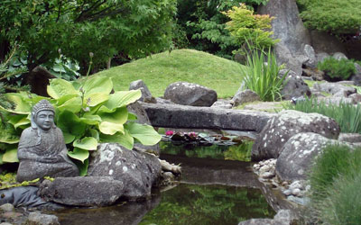 Paysagiste De Jardin Japonais Zen Et Jardin Contemporain