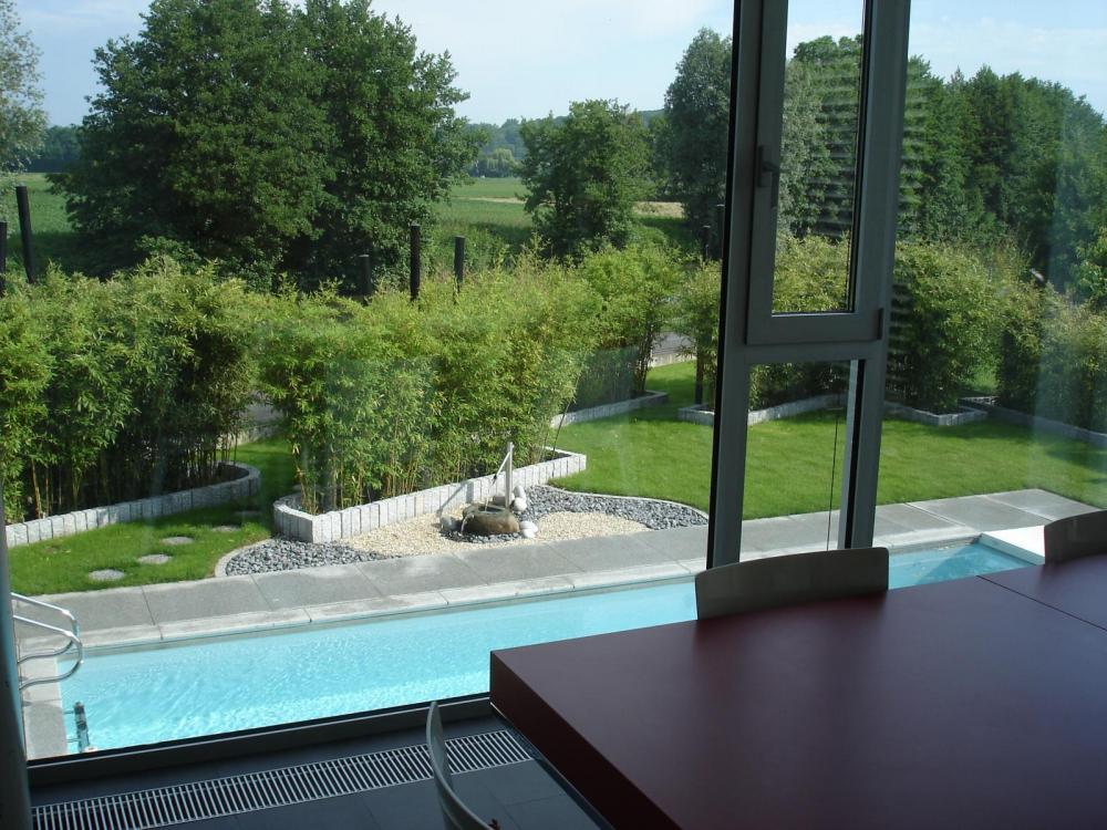 Chantier zillisheim jardins zen jardinier paysagiste - Jardins contemporains ...