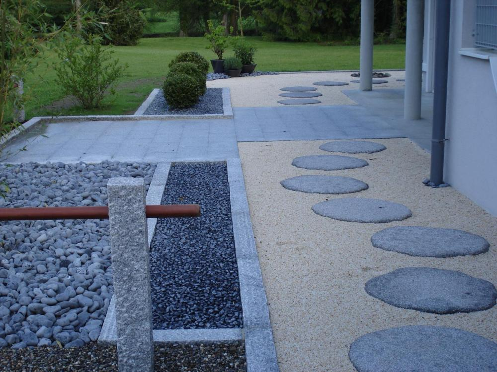 Chantier didenheim jardins zen for Amenagement zen